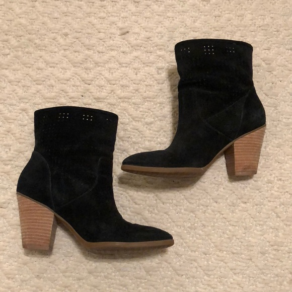 Enzo Angiolini Shoes - Black suede booties